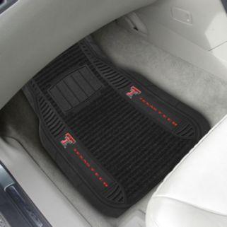 FANMATS 2-pk. Texas Tech Red Raiders Deluxe Car Floor Mats