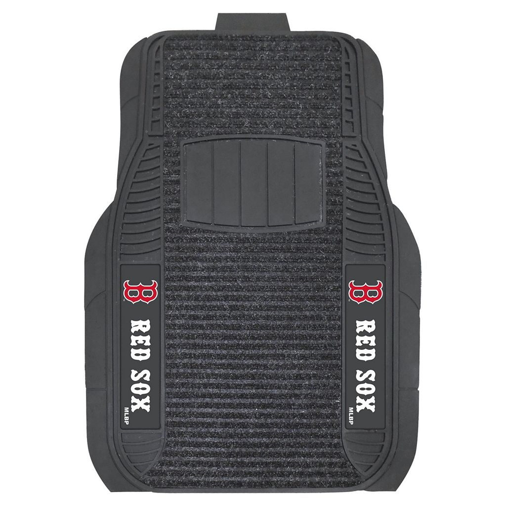 FANMATS 2-pk. Boston Red Sox Deluxe Car Floor Mats