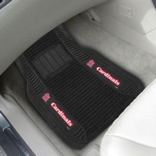 FANMATS 2-pk. St. Louis Cardinals Deluxe Car Floor Mats