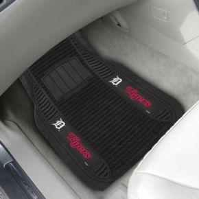 FANMATS 2-pk. Detroit Tigers Deluxe Car Floor Mats