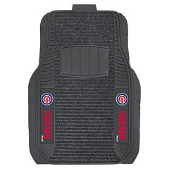FANMATS 2-pk. Chicago Cubs Deluxe Car Floor Mats
