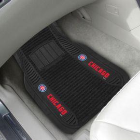 FANMATS 2-pk. Chicago Cubs Deluxe Car Floor Mats