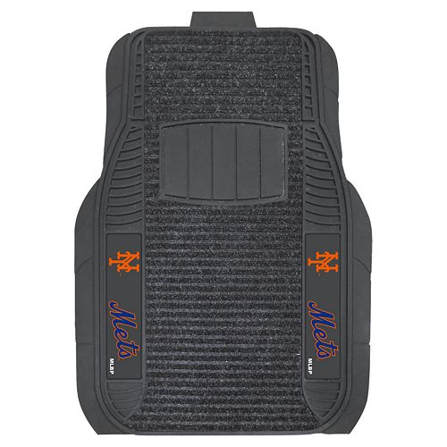 FANMATS 2-pk. New York Mets Deluxe Car Floor Mats
