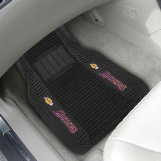 FANMATS 2-pk. Los Angeles Lakers Deluxe Car Floor Mats