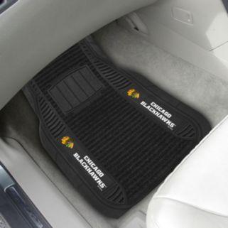 FANMATS 2-pk. Chicago Blackhawks Deluxe Car Floor Mats