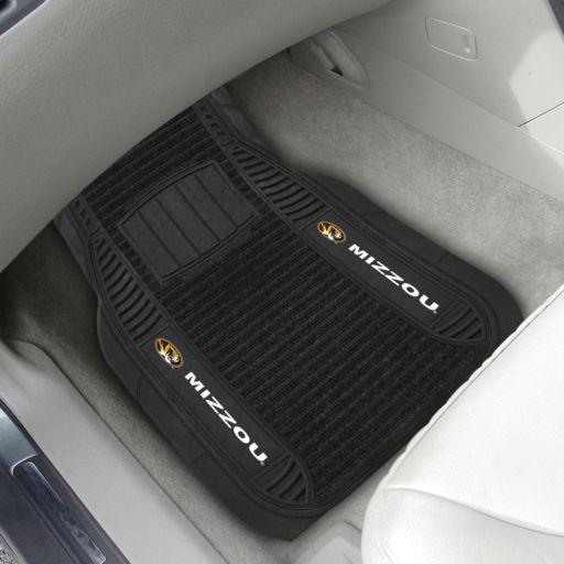 FANMATS 2-pk. Missouri Tigers Deluxe Car Floor Mats