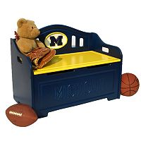 Michigan Wolverines Storage Bench