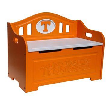 Tennessee Volunteers Storage Bench
