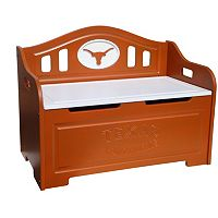 Texas Longhorns Storage Bench