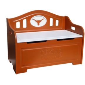 Texas Longhorns Storage Bench