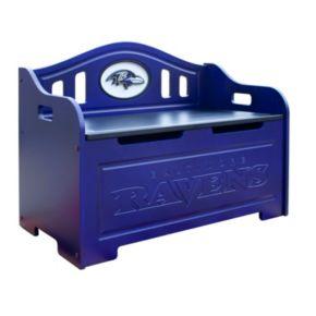 Baltimore Ravens Storage Bench
