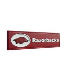 Arkansas Razorbacks Team Name Plaque