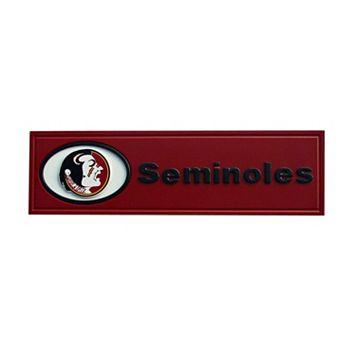 Florida State Seminoles Team Name Plaque
