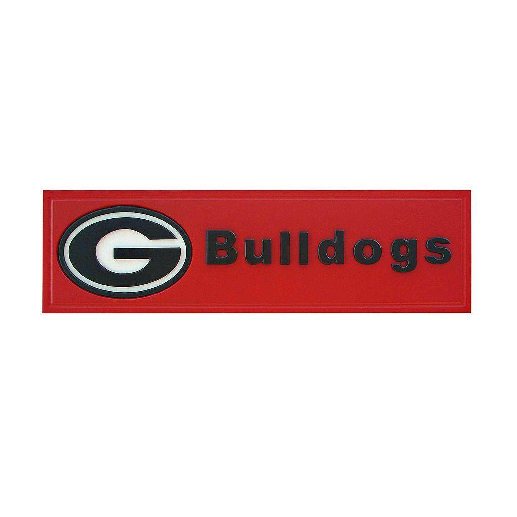 Georgia Bulldogs Team Name Plaque