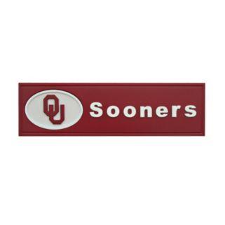 Oklahoma Sooners Team Name Plaque