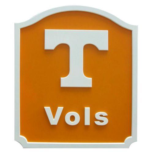 Tennessee Volunteers Team Name Plaque