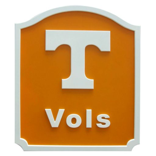 Tennessee Volunteers Team Name Plaque