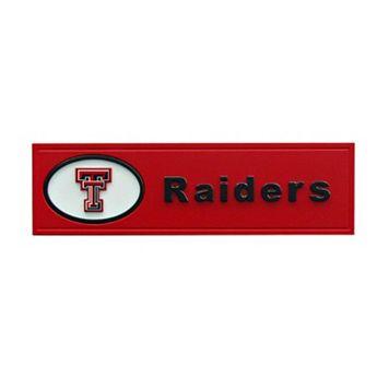 Texas Tech Red Raiders Team Name Plaque