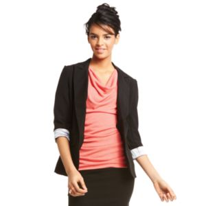 Juniors' IZ Byer California Boyfriend Blazer
