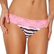 SO Lace-Trim Bikini Panty