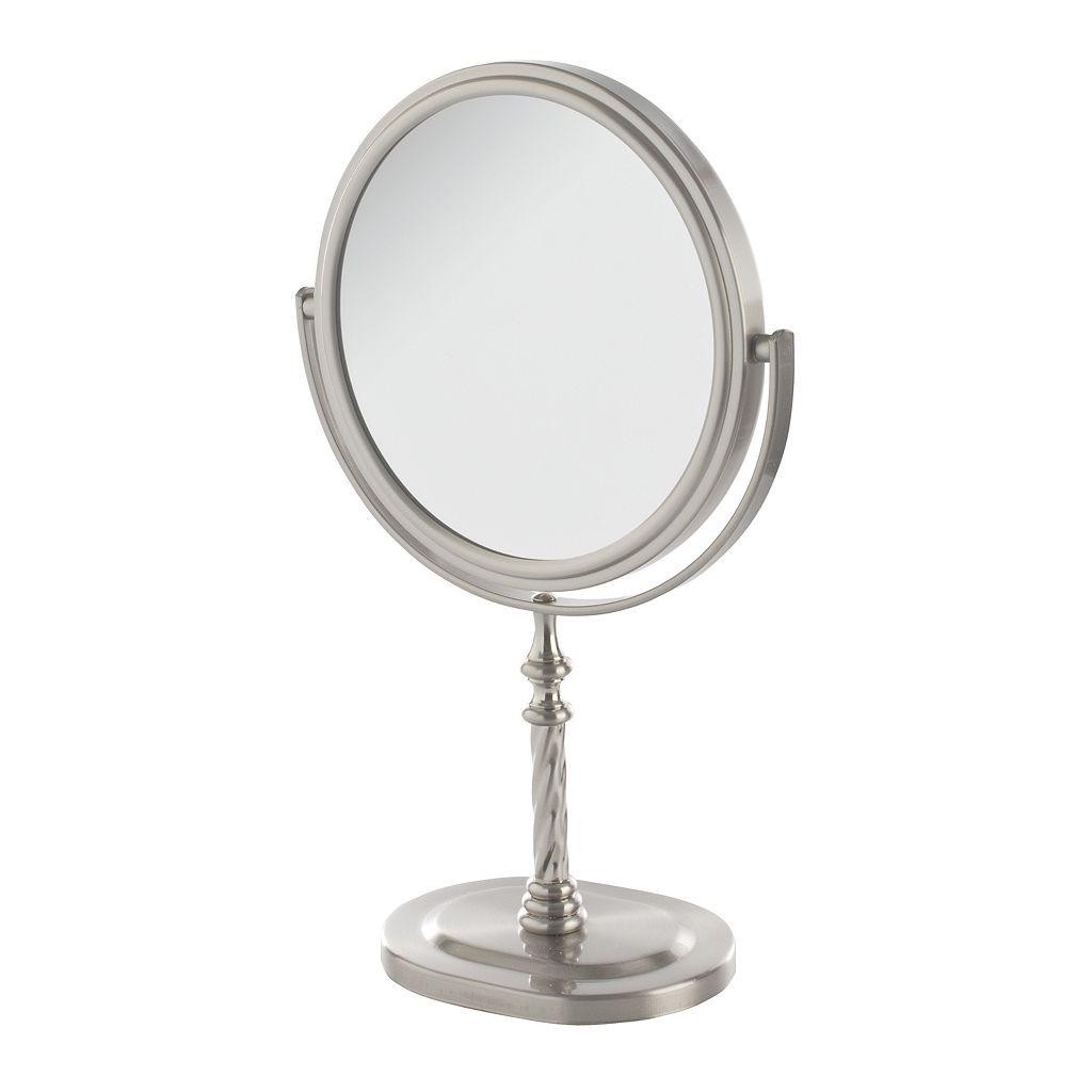 Jerdon 6-in. Twist Tabletop Mirror
