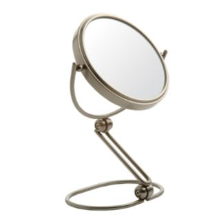 Jerdon 5 1/2-in. Folding Travel Mirror