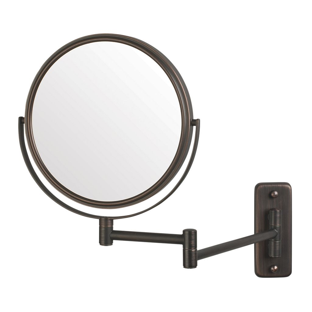 Jerdon Adjustable 8-in. Wall Mirror