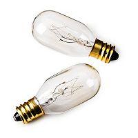 Jerdon Mirror 2 pkReplacement Light Bulbs
