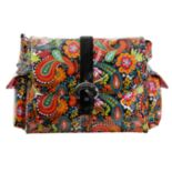 Kalencom Mango Paisley Laminated Buckle Diaper Bag