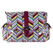 Kalencom Rainforest Pastille Laminated Buckle Diaper Bag