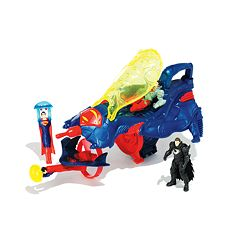 DC Comics Superman Man of Steel Flight Speeders Deluxe Strike Ship Gift Pack by Mattel by