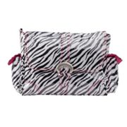 Kalencom Zebra Laminated Buckle Diaper Bag