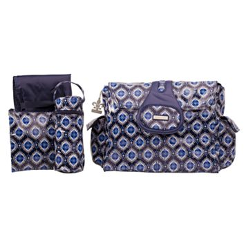 Kalencom Elite Laminated Diaper Bag - Medallion