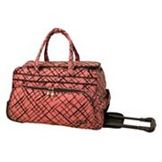 Jenni Chan Luggage, Brush Strokes Wheeled Duffel Bag