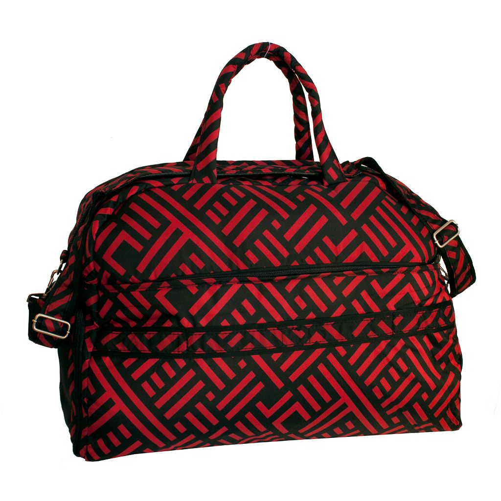 Jenni Chan Signature Soft Gym Duffel Bag