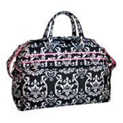 Jenni Chan Damask Soft Gym Duffel Bag