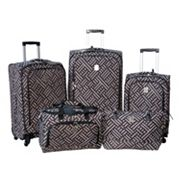 Jenni Chan Luggage, Signature 360 Quattro 5-pc. Spinner Luggage Set
