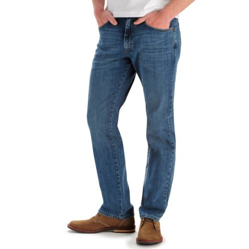 Lee Premium Select Classic Active Comfort Straight Leg Jeans - Men