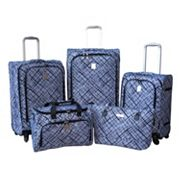 Jenni Chan Luggage, Brush Strokes 360 Quattro 5-pc. Spinner Luggage Set