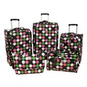 Jenni Chan Luggage, Multi Dots 360 Quattro 5-pc. Spinner Luggage Set