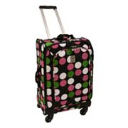 Jenni Chan Luggage, Multi Dots 360 Quattro 21-in. Spinner Carry-On