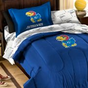 Kansas Jayhawks 5-piece Twin Bed Set