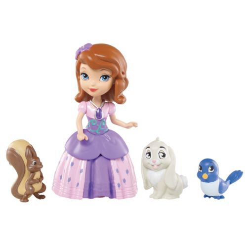 Disney Sofia the First Sofia and Animal Friends Set by Mattel