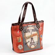 Nicole Lee Gitana Paris Tote