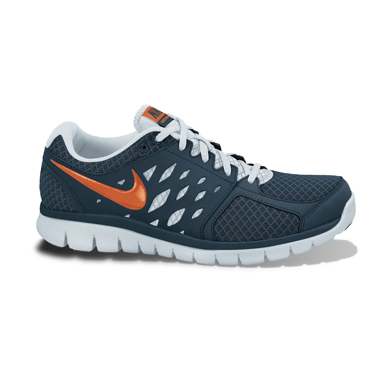 Nike Blue Flex Run High-Performance Running Shoes - Men