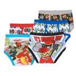 Boys 4-8 Power Rangers Mega Force 5-pk. Briefs