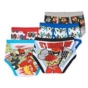 Power Rangers Mega Force 5-pk. Briefs - Boys 8-20