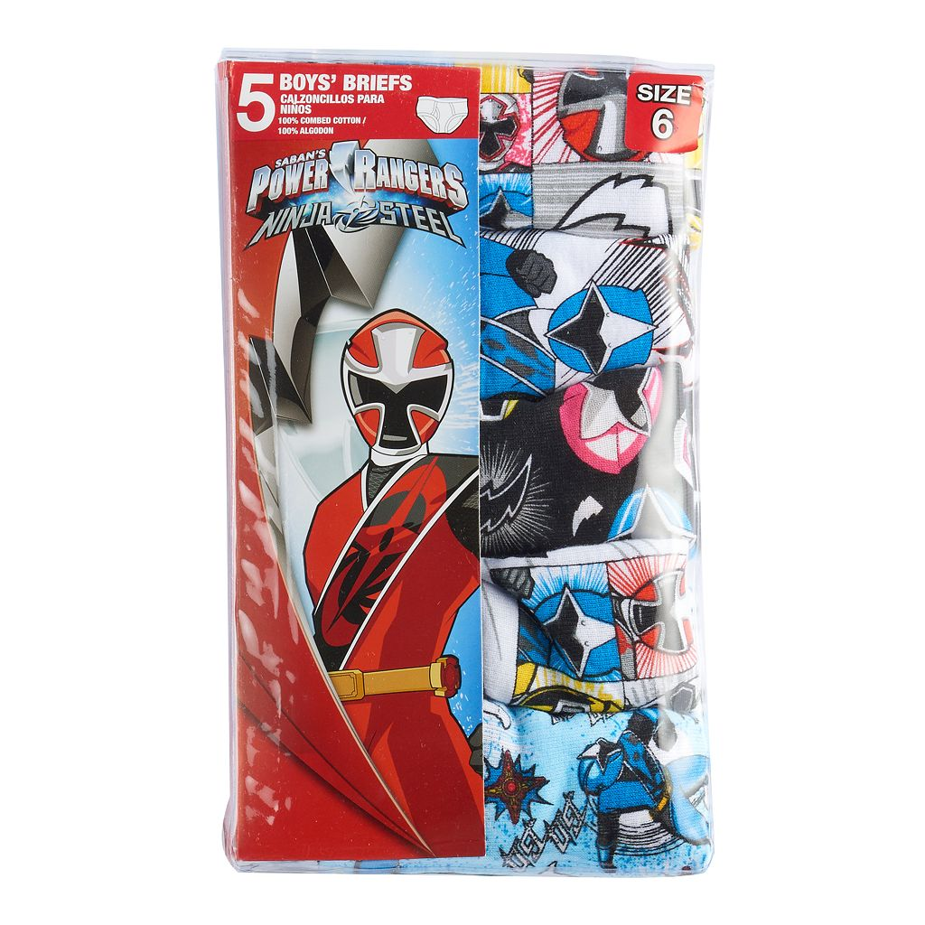 Boys 4-8 Power Rangers Mega Force 5-pk. Briefs