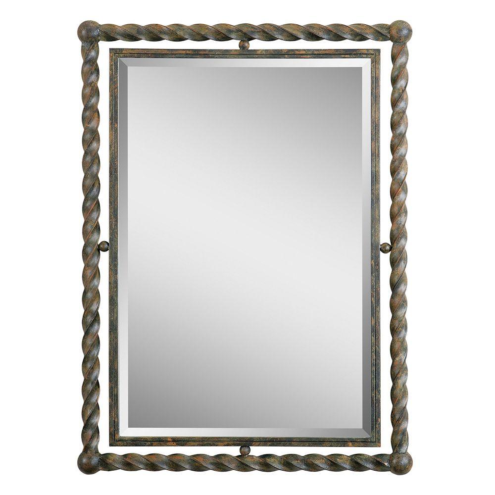 Uttermost Garrick Beveled Wall Mirror