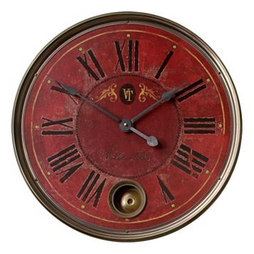 Regency Villa Tesio Wall Clock